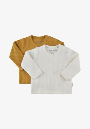 Long sleeved top - amber gold