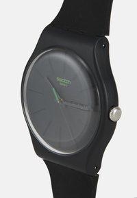 Swatch - NEUZEIT - Watch - solid black - 3
