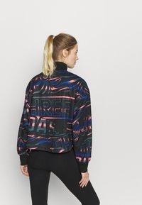 adidas Performance - HALFZIP - Sweatshirt - black/semi flash red - 2