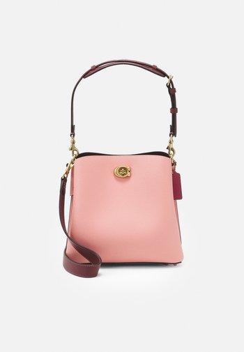 COLORBLOCK WILLOW BUCKET - Handbag - candy pink multi