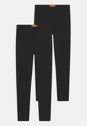 THERMO TEEN 2 PACK - Leggings - Trousers - black