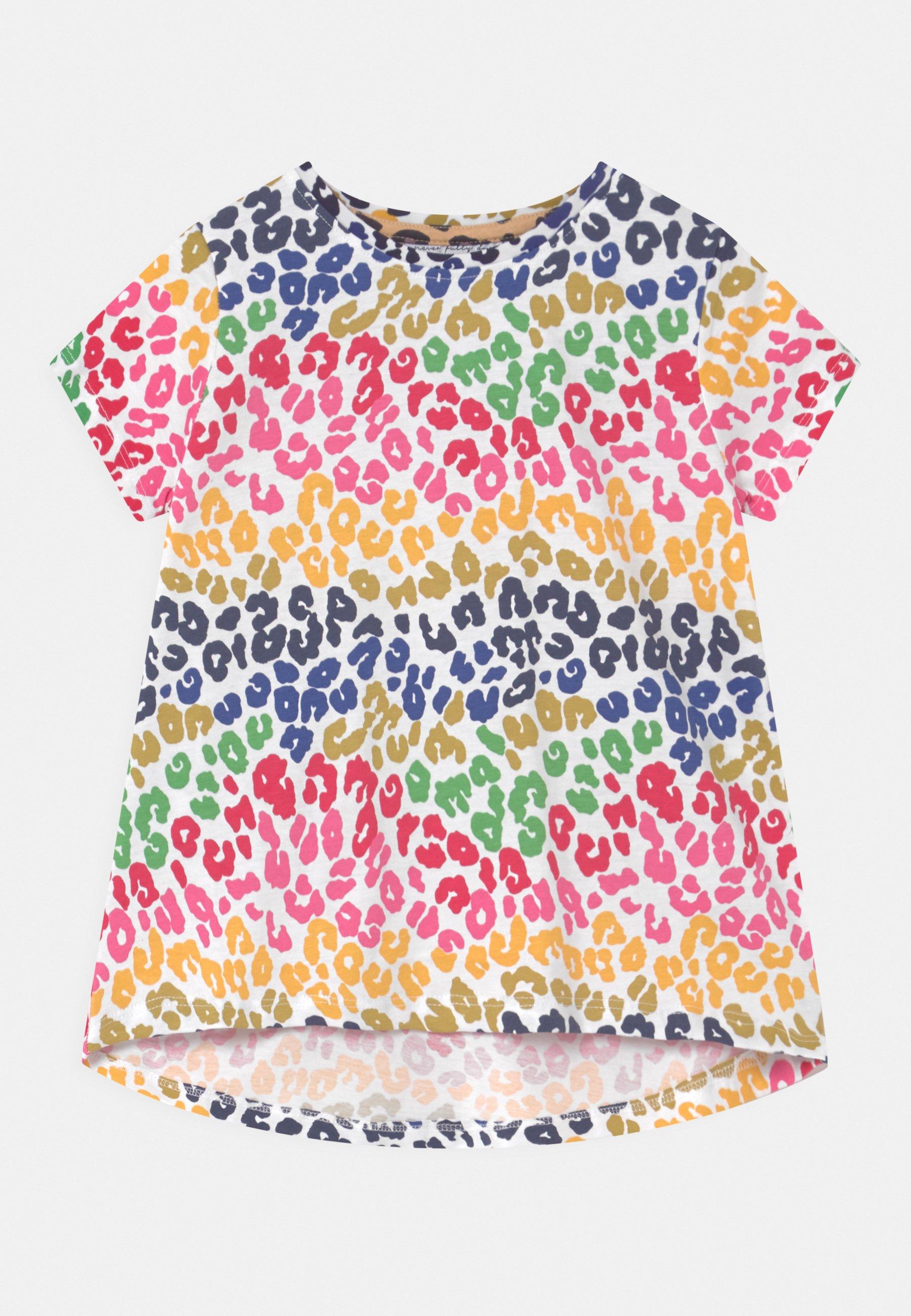 Kids RAINBOW LEOPARD SWING - Print T-shirt