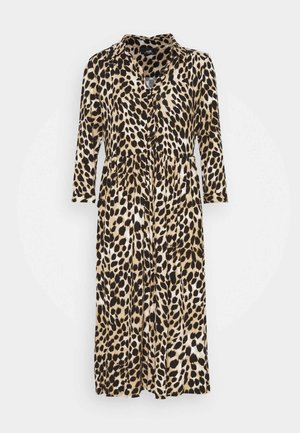 ANIMAL SHIRT DRESS - Korte jurk - neutral