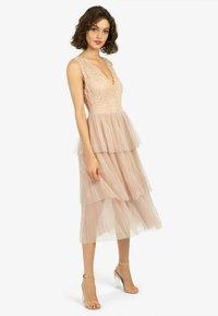 Apart - Cocktail dress / Party dress - beige - 0