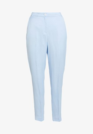 FLARED PANT - Trousers - light blue