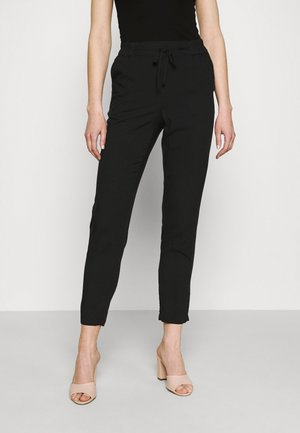 VMSIMPLY EASY PANTS - Stoffhose - black