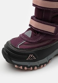 Kappa - BONTE TEX UNISEX - Zimní obuv - purple/rosé - 5