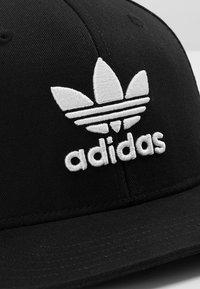 adidas Originals - Snapback Trefoil Cap - Keps - black/white - 6