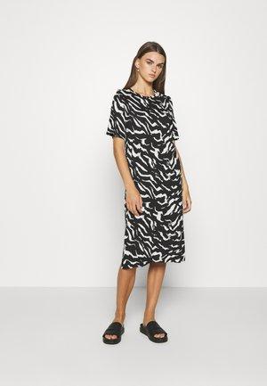 LILJA DRESS - Jersey dress - black