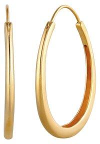 Elli - BASIC HOOPS - Earrings - gold-coloured - 4