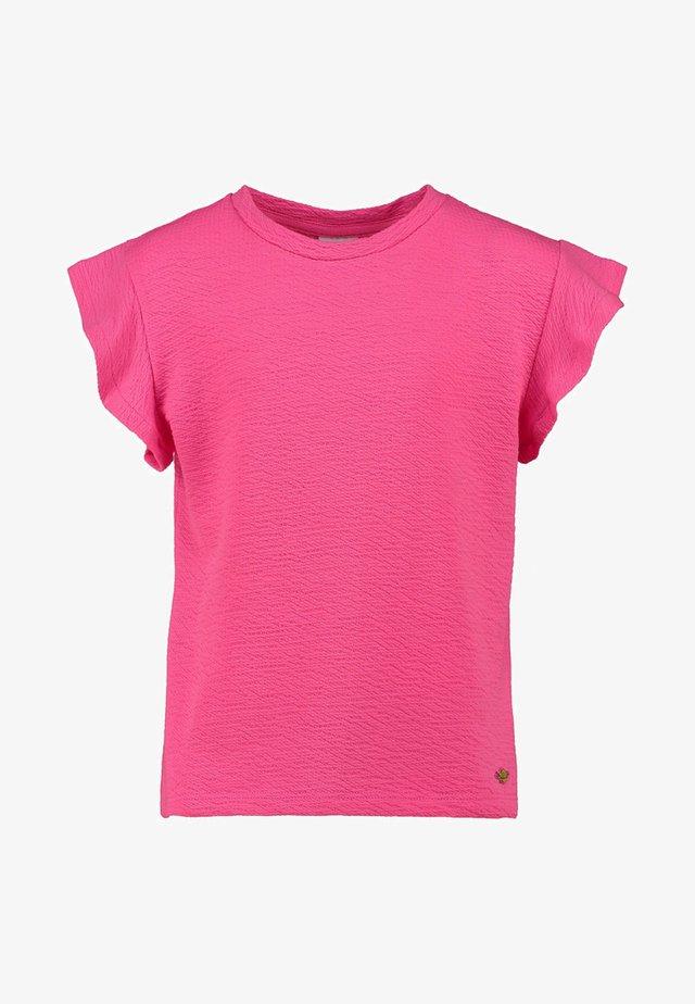 AGATA - Print T-shirt - neon pink