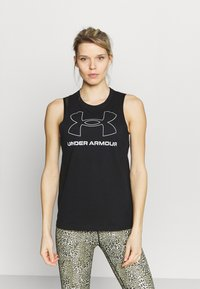 Under Armour - SPORTSTYLE GRAPHIC TANK - T-shirt sportiva - black - 0