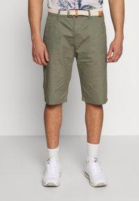 Esprit - Shorts - dusty green - 0