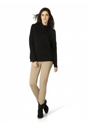 MUNICH - Leggings - Trousers - taupe