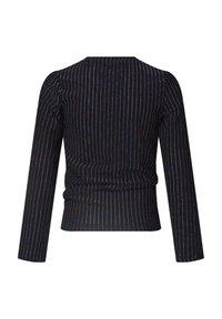 WE Fashion - MET GLITTERGAREN - T-shirt à manches longues - dark blue - 1