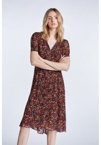 SET - TAILLIERTES - Day dress - black red - 0