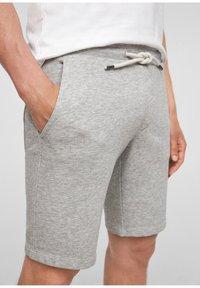 s.Oliver - Tracksuit bottoms - grey - 8