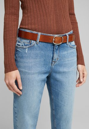 Belt - rust brown