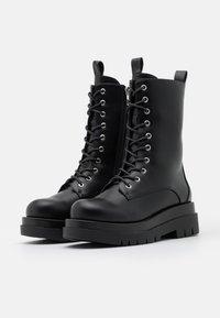 RAID - DAHLIA - Platform ankle boots - black - 2