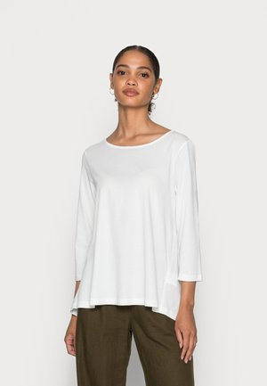 SLEEVE - Maglietta a manica lunga - cotton white
