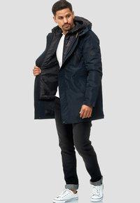 INDICODE JEANS - Cappotto invernale - black - 1