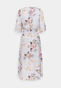 True Violet Petite - SLEEVE FIT AND FLARE DRESS - Denní šaty - grey - 1