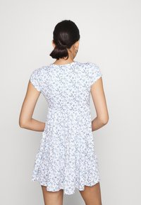 Hollister Co. - DRESS - Jerseykjole - white - 2