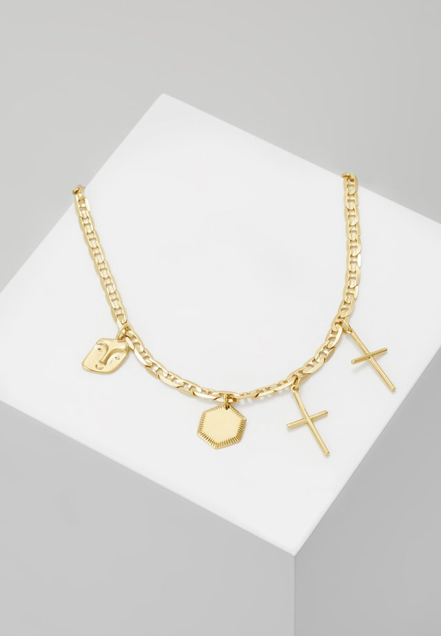 STORIES NECKLACE - Collier - gold-coloured