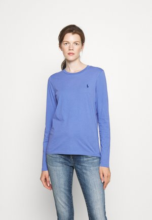 TEE LONG SLEEVE - Long sleeved top - deep blue