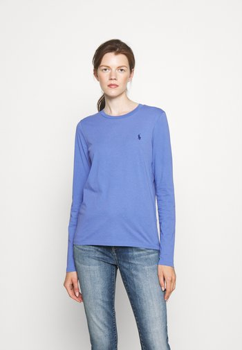 TEE LONG SLEEVE - Maglietta a manica lunga - deep blue