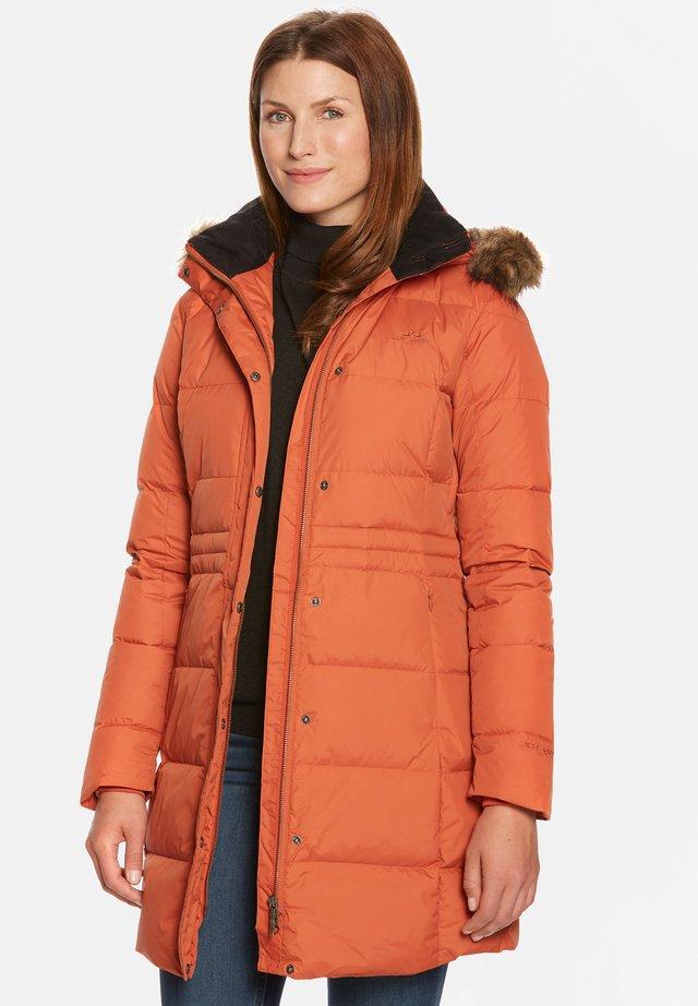 FELY - Down coat - rust