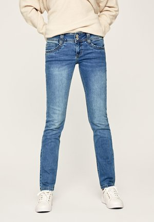 GEN - Jeansy Slim Fit - denim
