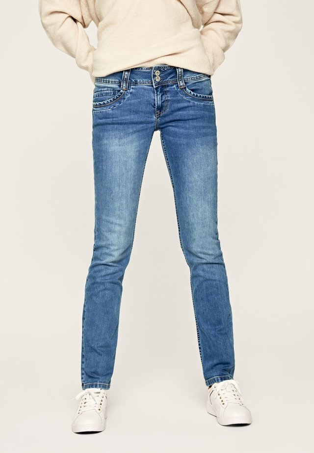GEN - Slim fit jeans - denim