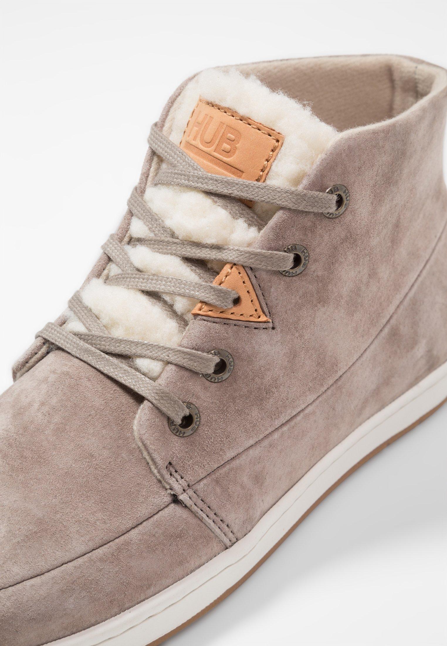 Hub Subway - Sneaker High Dark Taupe/bone/taupe