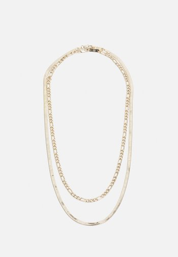 UNISEX 2 PACK  - Necklace - gold-coloured
