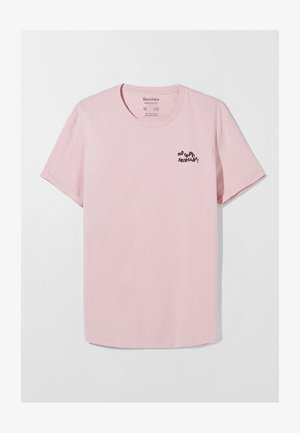 MUSCLE FIT - Printtipaita - pink
