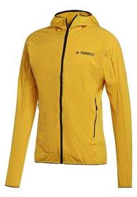 adidas Performance - TERREX SKYCLIMB FLEECE JACKET - Fleece jacket - yellow - 9