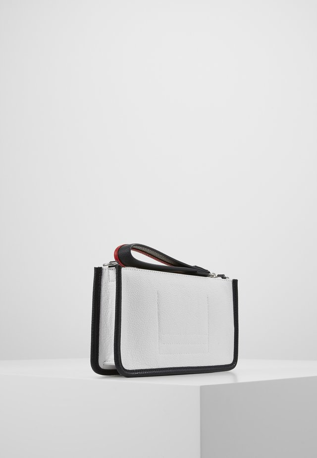 BINDING CROSSOVER - Pochette - white