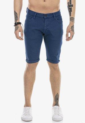 RAYLEIGH - Denim shorts - indigo