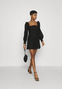 Fashion Union - DRESS - Cocktail dress / Party dress - black - 1