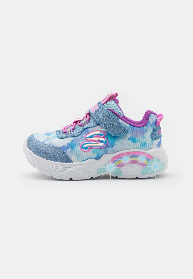 Skechers - RAINBOW RACER - Trainers - blue