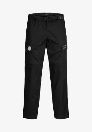 ACE PETE - Cargo trousers - black
