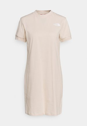 TEE DRESS - Jerseykjole - pink tint