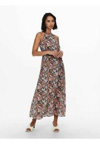 ONLY - NECKHOLDER - Maxi dress - pumice stone - 1