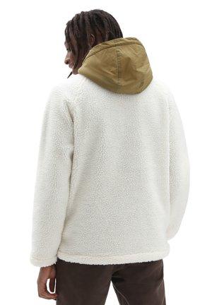 MN VANS WORLD CODE SHERPA FZ - Hoodie - antique white nutria