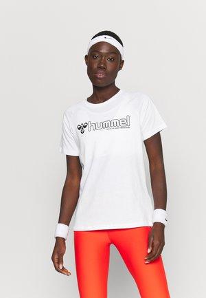 HMLZENIA  - Print T-shirt - white