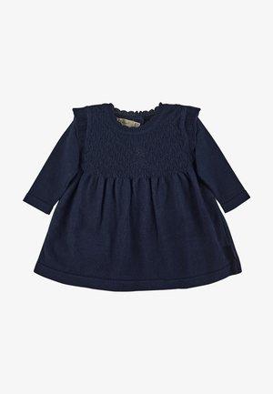 KNITTED DRESS - Jumper dress - marine