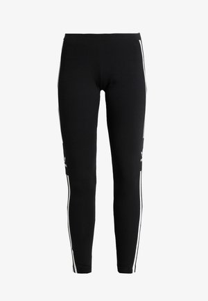 ADICOLOR TREFOIL TIGHT - Leggings - Trousers - black