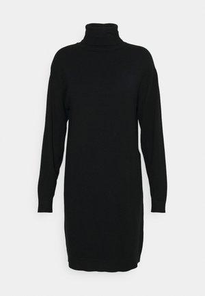 VIRUBI L/S ROLL NECK/KA - Jumper dress - black