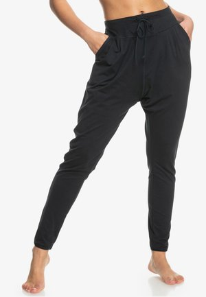 LOVE AINT ENOUGH - Tracksuit bottoms - anthracite
